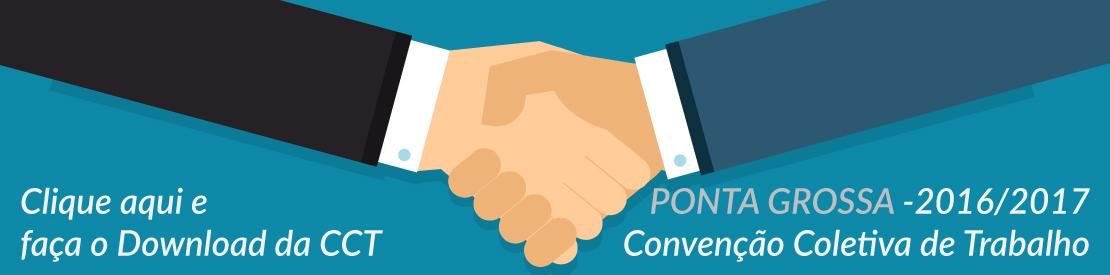 Convenção Coletiva - 2016 2017 - PONTA GROSSA